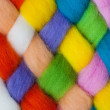 Handcraft felting material — Stock Photo #16887533
