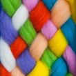 Handcraft felting material — Stock Photo