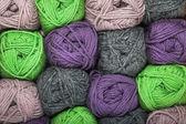 Fil de laine naturelle — Photo