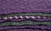 Pilha de tecido de malha — Fotografia Stock