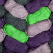 Royalty-Free Stock Photo: Wool Skein Background