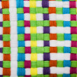 Stock Photo: Multicolored Braided Texture