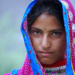 Stock Photo: Tribal girl from Rajasthan