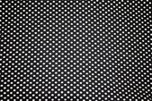 Tiny white polka dots on Navy-blue cloth — Stock Photo