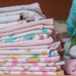 Stockfoto: Stacked linen