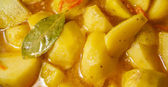 Stewed potatoes with spices — Stock Photo