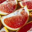 Stock Photo: Juicy grapefruit