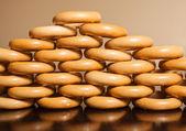 Crispy bagels — Stock Photo