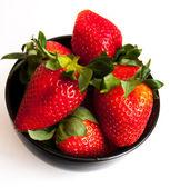 Juicy tasty strawberries — Stock Photo