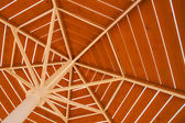 Underside of  parasol — Stock Photo