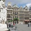 Stock Photo: View of Brussels Grand place