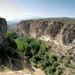 Canyon of Alhama de Granada — Stock Photo
