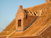 Roof construction — Stockfoto