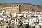 Church of Alhama de Granada — Stock Photo