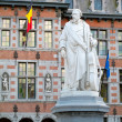 Statue of Servais, Halle - Stock Photo
