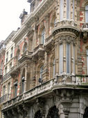 Architectural detail of a facade,Brussels — Stockfoto