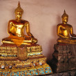 Stock Photo: Golden buddha's from Thailand
