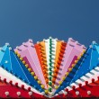 Stock Photo: Colorful lights of fun fair