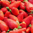 Stock Photo: Assortment of fresh strawberries