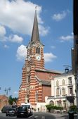 Church St Gery, Rebecq, Belgium — Stock Photo