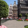 "Stock Video: ""Floraliëntime"" flower show at Grand Place in Brussels"