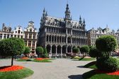 Flower show at the Grand Place in Brussels — Stockfoto