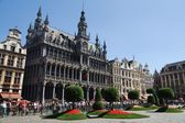 Flower show at the Grand Place in Brussels — Стоковое фото