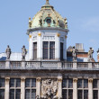 Stock Photo: Brussels, Grand-place, detail of roofs
