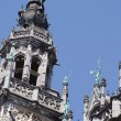 Stock Photo: Brussels city hall, detail