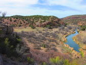 Verde River in Winter (2) — Stock Photo
