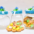 Cookies and jars - Stock Photo