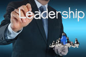 Leadership concept — Stockfoto