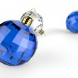 Christmas baubles elements — Stock Photo #18060741
