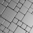 Steel metal plate background — Stock Photo
