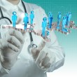 Stock Photo: Medical network concept