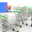 Stock Photo: Online shopping concept