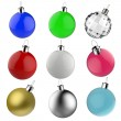 Empty Christmas balls ornament — Stock Photo #18068841