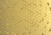 Gold metal plate background or texture — Stock Photo