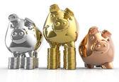 Piggy bank as concept — Stock Photo