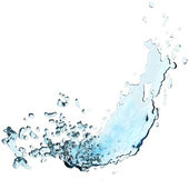 3d water splash — Stock Photo