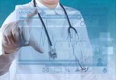 Smart doctor — Stock Photo