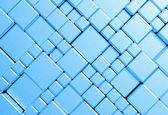 Steel blue mesh metal plate background or texture — Stock Photo