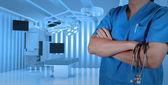 Framgång smart läkare — Stockfoto
