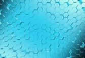 Molecole astratto sfondo medico — Foto Stock