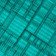 Stock Photo: Steel blue cube mesh metal plate background