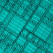 Steel blue cube mesh metal plate background — Stock Photo #23803455