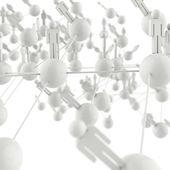 3d human social network as concept — Stock Photo