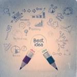 Best idea concept creative — Stock Photo #27771481