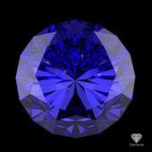 Diamond on black — Stock Photo