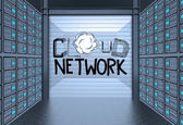 Cloud Computing diagram — Stock Photo
